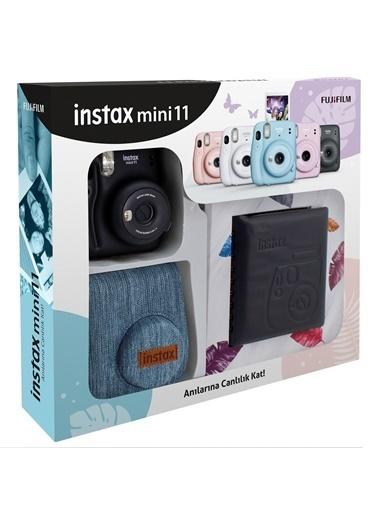 Fujifilm Instax mini 11 Jean Çantalı Siyah Kit Siyah
